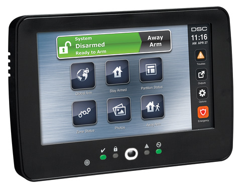 Touchscreen Alarm Keypad With Prox Support Dsc Alarm