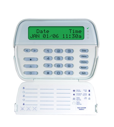 Powerseries 64 Zone Lcd Full Message Keypad Dsc Security