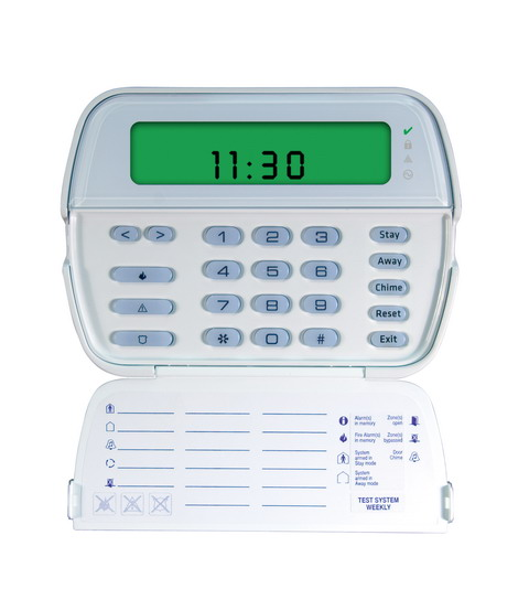 Home Security System Keypad - PK5501 | DSC Security Products | DSC