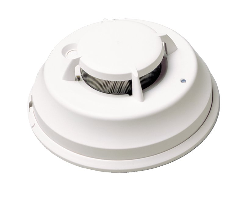 Addressable Photoelectric Smoke Detectors Without Heat Sensor