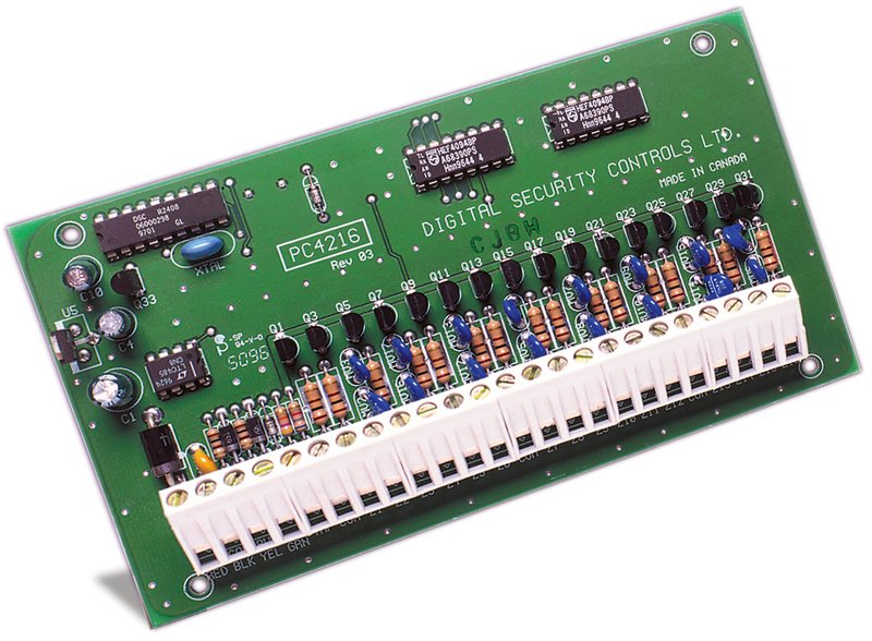 Maxsys 16 Low Current Output Module Dsc Security