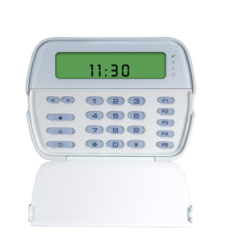 Powerseries 64 Zone Lcd Picture Icon Keypad With Built In