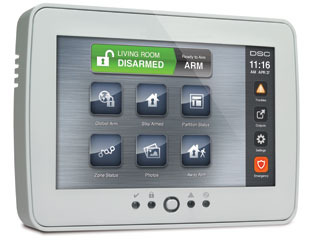 Security System TouchScreen Keypad PTK 5507 | DSC PowerSeries