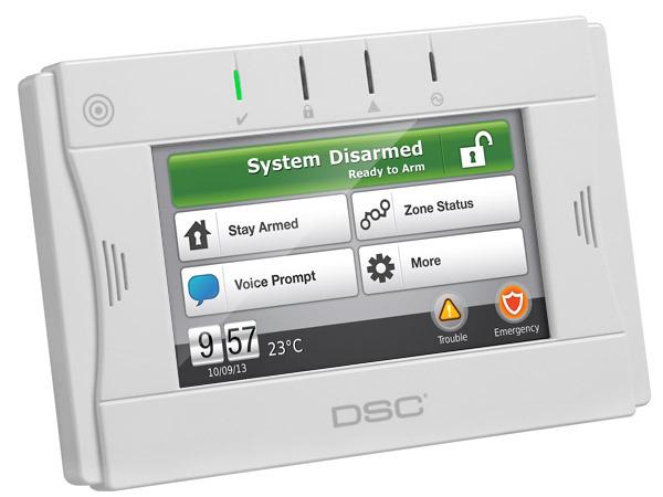 2 way wireless touchscreen arming station dsc security products dsc rh dsc com DSC 1555 User Manual DSC 1555 User Manual