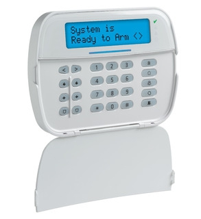PowerG Wireless Full Message LCD 2-Way Keypad with optional Voice Prompting