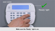Power Series Neo Keypad - How to Set Away Mode Tutorial - DSC